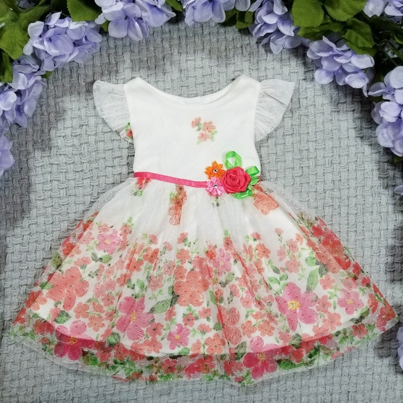 Rare Editions Other - 2/$20 Rare Editions Summer floral lace dress